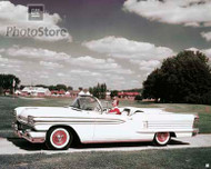 1958 Oldsmobile 98 Convertible Poster