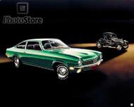 1972 Chevrolet Vega Coupe Artwork Poster