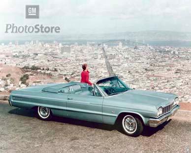 1964 Chevrolet Impala SS Convertible II Poster