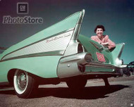 1957 Chevrolet Bel Air Convertible Poster