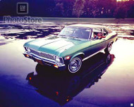 1969 Chevrolet Nova Coupe Poster
