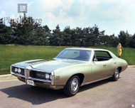 1968 Pontiac Tempest LeMans 4-Door Poster