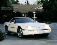 1989 Chevrolet Corvette Convertible Poster