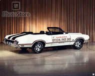 1970 Oldsmobile 442 Convertible Pace Car Poster