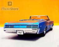 1967 Pontiac Tempest GTO Convertible Poster