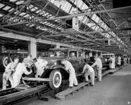 1932 Cadillac Series 355-B Assembly Poster