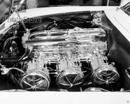 1953 Chevrolet Corvette Motorama Engine Poster