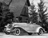 1932 Cadillac Series 355-B Roadster Poster