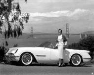1953 Chevrolet Corvette Roadster Poster