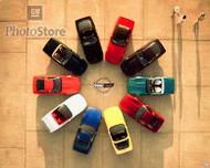 Chevrolet Corvette C4 Lineup Poster