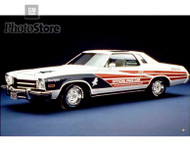 1975 Buick Century Custom Coupe Indianapolis 500 Pace Car Poster