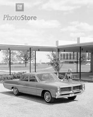 1964 Pontiac Catalina 4-Door Sedan Poster