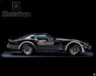 1978 Chevrolet Corvette Coupe Pace Car Poster