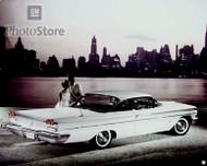 1960 Pontiac Bonneville Sport Coupe Poster