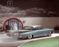 1959 Chevrolet Impala Sport Coupe Poster