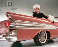 1957 Pontiac Star Chief Convertible Poster