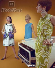1967 Mod Fashions Poster
