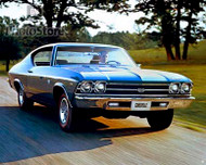 1969 Chevrolet Chevelle SS 396 Poster