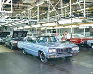 1964 Chevrolet Impala Sport Assembly Poster