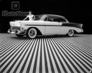 1956 Chevrolet Bel Air Sport Coupe Poster