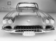 1958 Chevrolet Corvette Convertible Poster