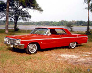 1964 Chevrolet Impala SS Coupe Poster