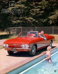 1965 Chevrolet Corvair Monza Convertible II Poster