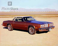 1977 Oldsmobile Cutlass Supreme Coupe Poster