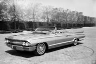 1960s Cadillac Studio Concept Poster