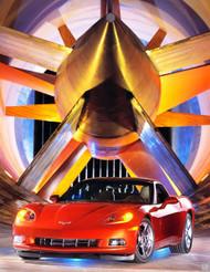 2009 Corvette Poster
