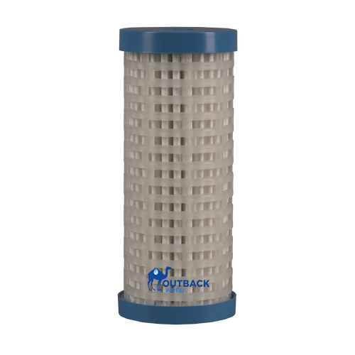 Gravity flow non electric pleated electro adhesion and ultra-filtration water purification filter capable of removing bacteria, cysts and virus