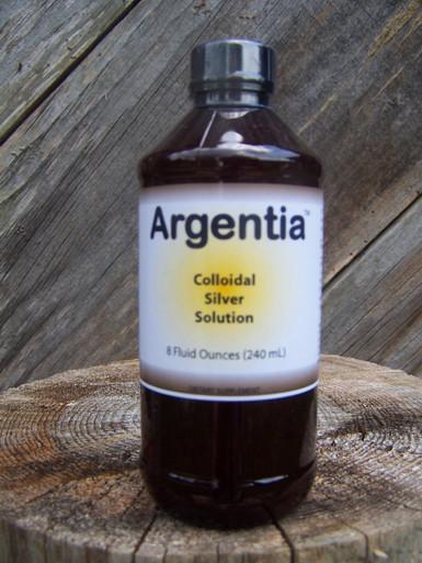 Argentia Colloidal Silver 50 ppm Solution, 8 oz.