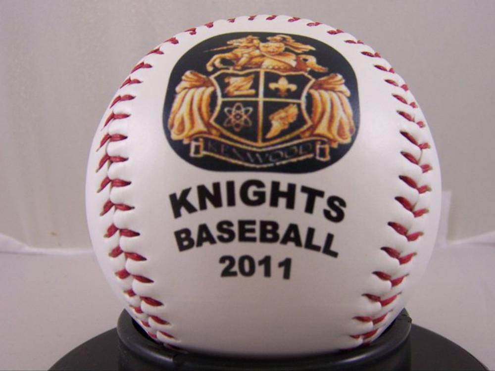 Knights Baseball 2011 little league personalized baseball