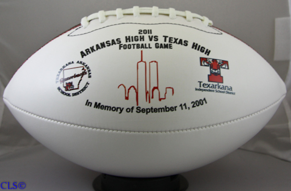 Corporate Accomplishment Personalized Football