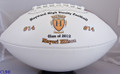 Senior Night Custom Full Size Football
