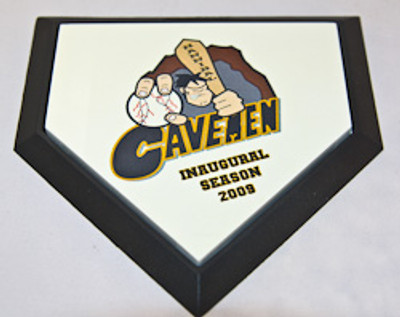 Personalized Mini Baseball Home Plate