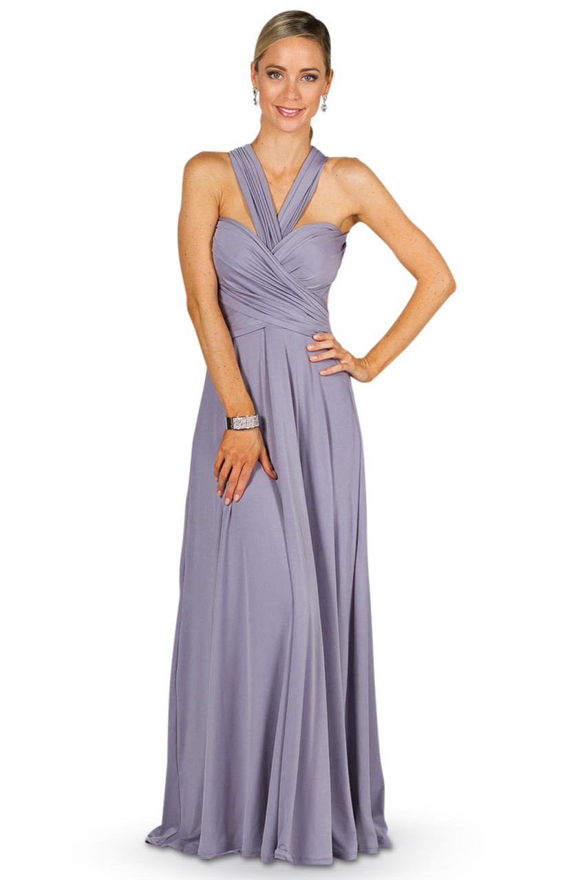 Convertible Bridesmaid Dress Maxi Periwinkle