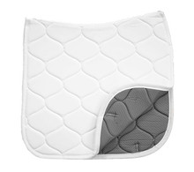 Benefab By Sore No-More Anti-Slip Dressage Pad white