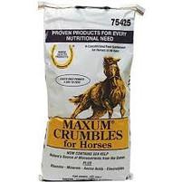 Horse Health Maxum Crumbles 25 lbs