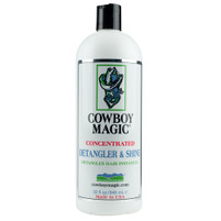 Cowboy Magic Detangler and Shine 32 oz