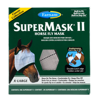 Farnam SuperMask II Fly Control Mask with Ears (X-Large)