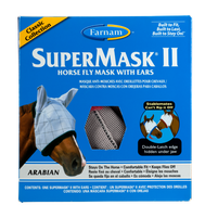 Farnam SuperMask II Fly Control Mask with Ears (Arabian)