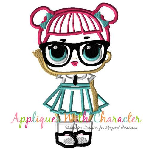 Lol Doll Teacher S Pet Applique Design By Appliques With