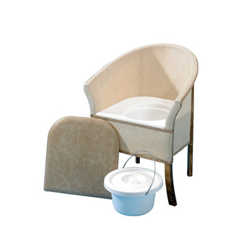 Days Healthcare Royale Wooden Commode Chair