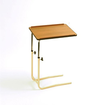 Overbed Table with Split Legs