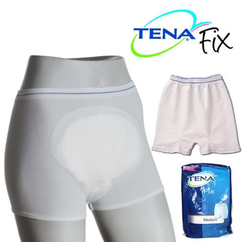 5-Pack Tena Washable Fix Pants - Holds incontinence pads in place!