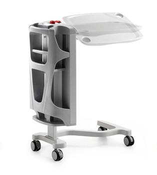 Sidhil Clarus Overbed Table with bottle holder