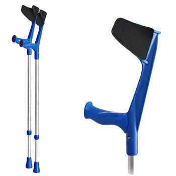 Anatomic Soft Handle Padded Adjustable Crutches