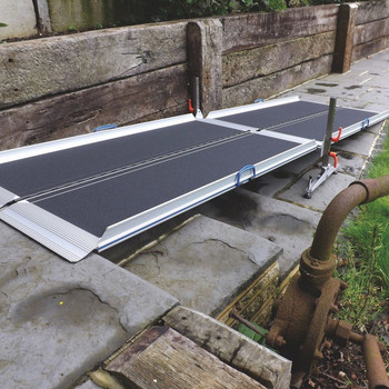High-Rising Access Ramp Kit for high thresholds