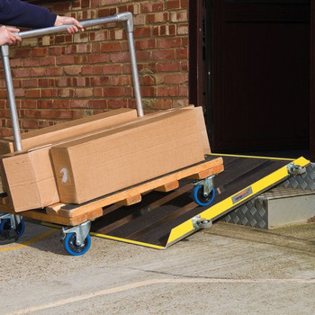 GripDeck Wheeled Utility Ramp For Industrial Use